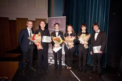 Finalists with the President of the TSSO Association of Friends, Konstantinos Zervas .jpg