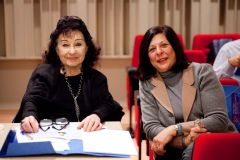 Member of the Jury, pianist Nora Loukidou with the competition sponsor Katerina Panagiotidou.jpg