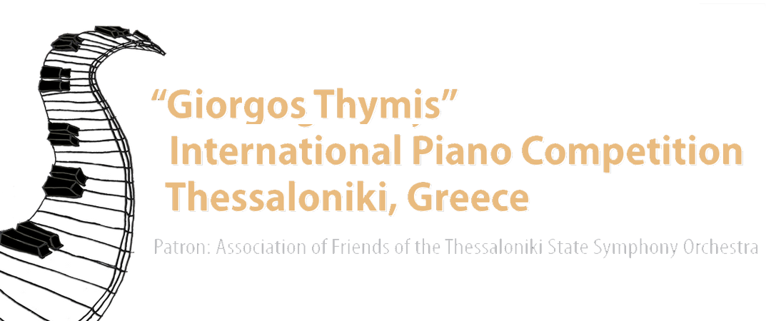 Giorgos Thymis :: International Piano Competition, Thessaloniki, Greece